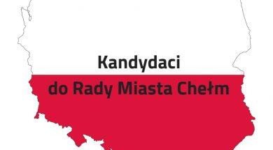 Kandydaci do Rady Miasta Chełm