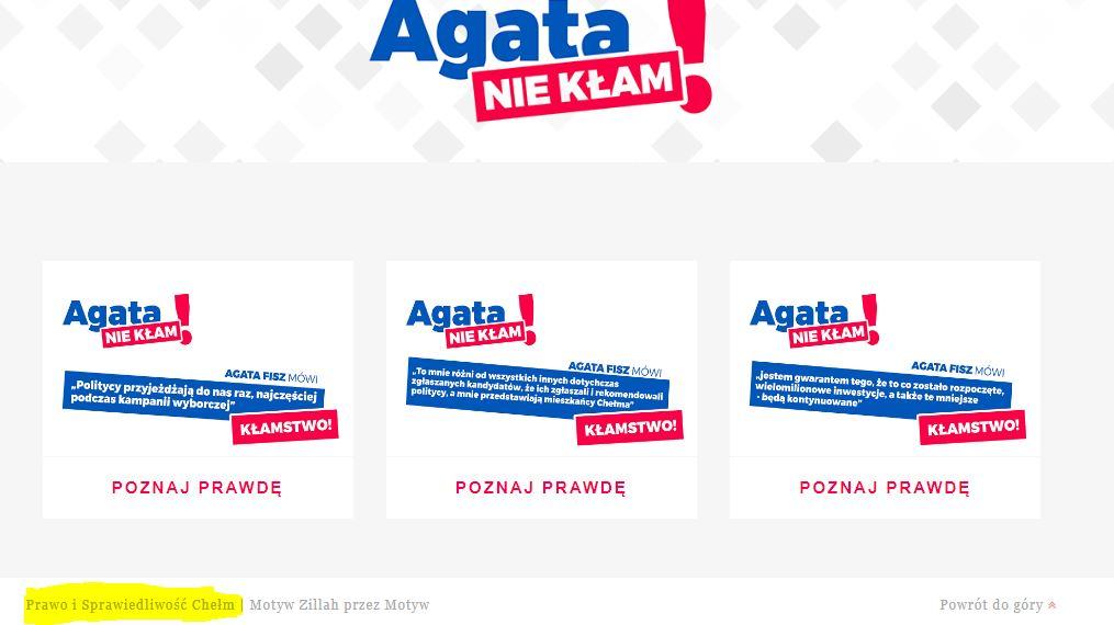 brudna kampania agata fisz 2018