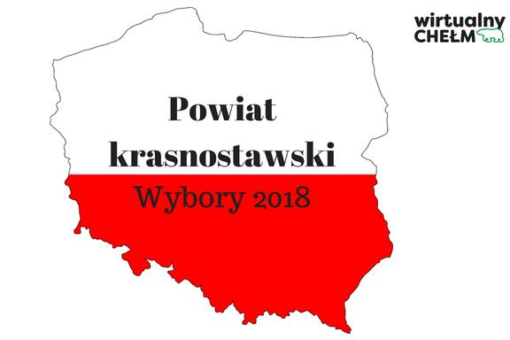 Powiat krasnostawski – zgłoszone komitety w wyborach 2018