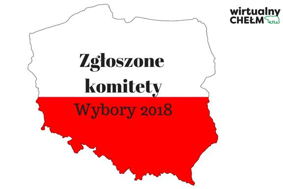 Wybory 2018: aż 89 zgłoszonych komitetów