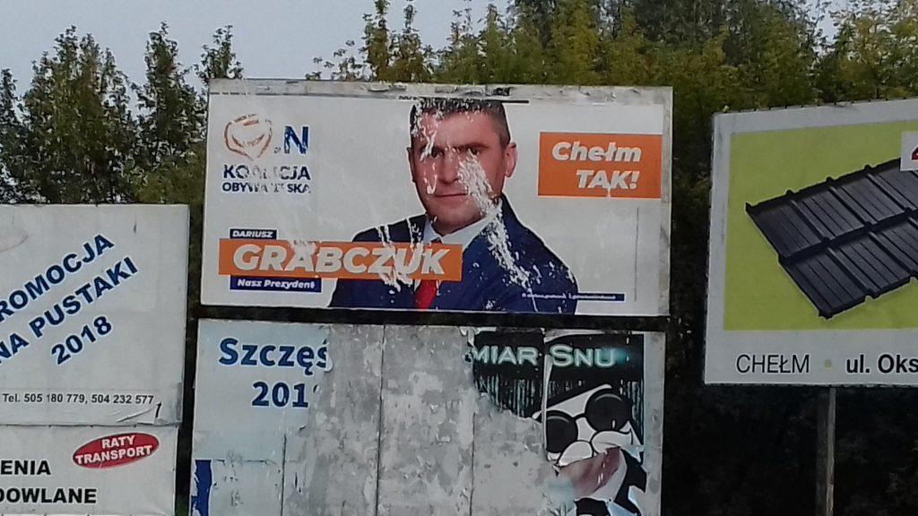 brudna kampania dariusz grabczuk