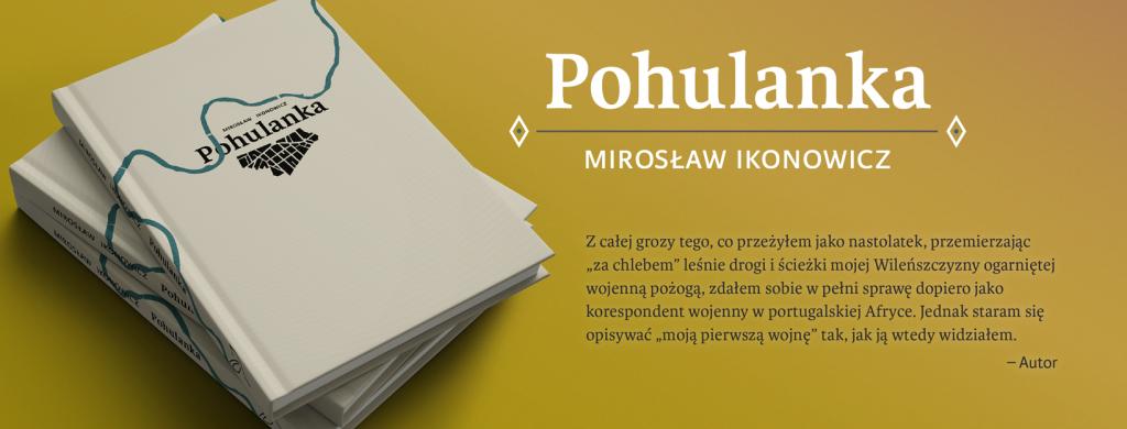 """Spotkanie autorskie wokół książki """"Pohulanka""""M. Ikonowicza"""