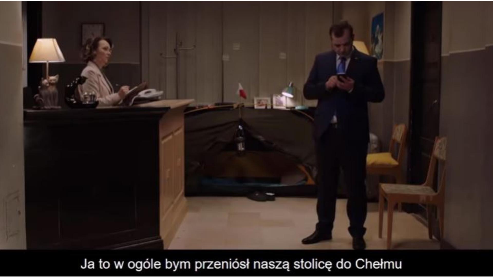"""Ucho Prezesa: """"Przenieśmy stolicę do Chełma!"""""""
