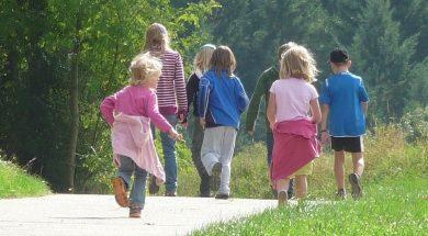 dzieci-las