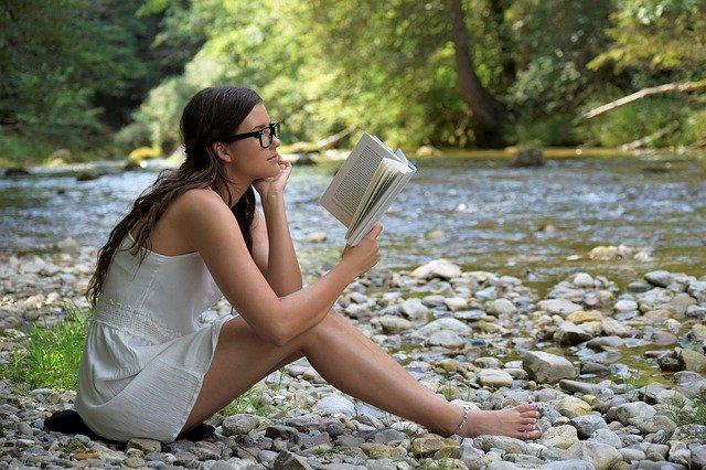 Książki na wakacjach