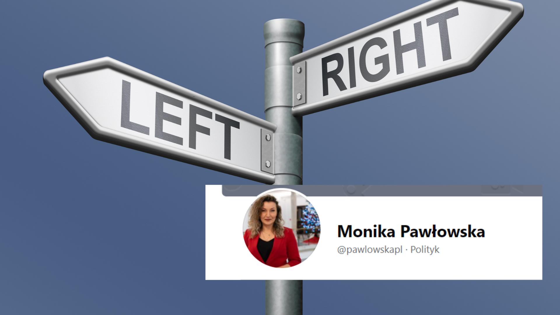 Monika Pawłowska z Lewicy do… Zjednoczonej Prawicy