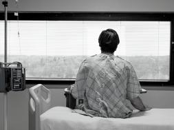 samotny pacjent