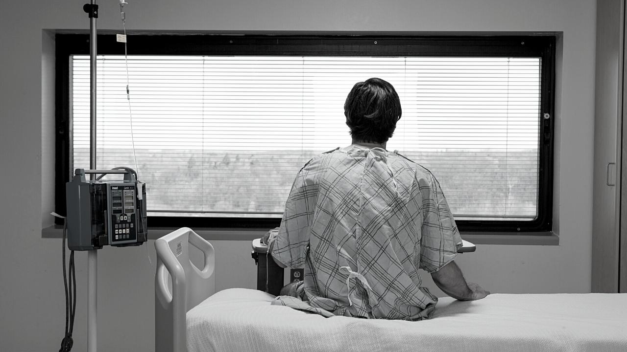 Samotność pacjenta w szpitalu