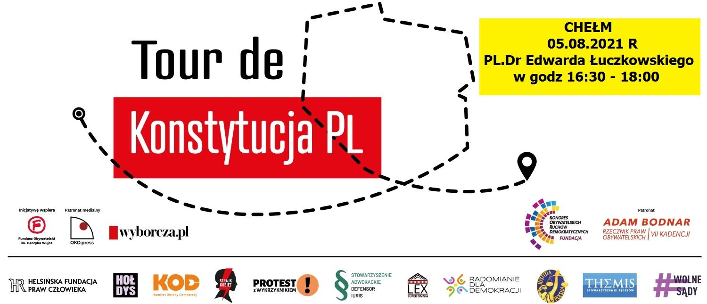 Tour de Konstytucja PL w Chełmie.